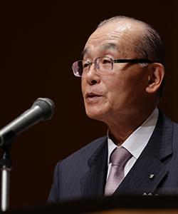 会長:貫 正義(九州電力株式会社 代表取締役会長)